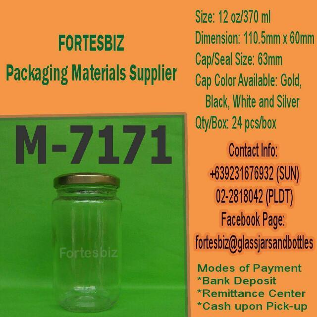 370ml Glass Jars
