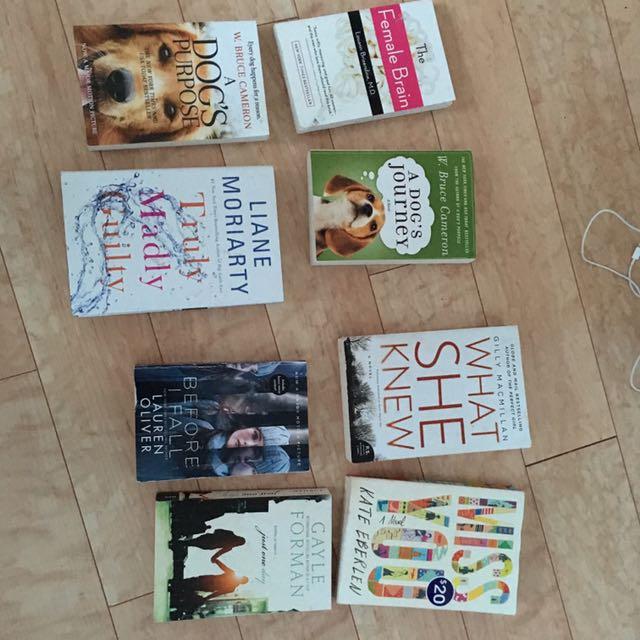 8 Bestseller Books