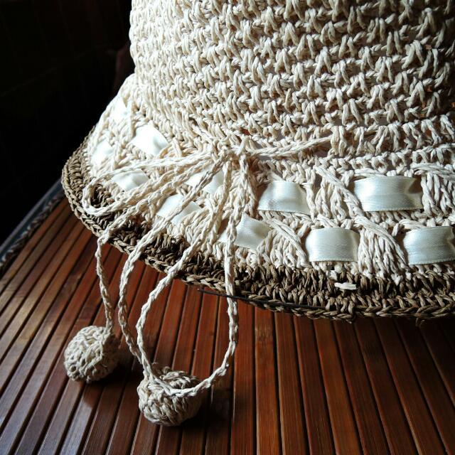 🉑🎉 降 夏天海灘必備--草帽/編織帽 #交換最划算  #含運最划算