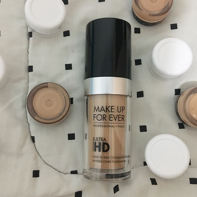 [ SHARE ] Mufe Make Up For Ever Ultra HD Foundation Shade Y315