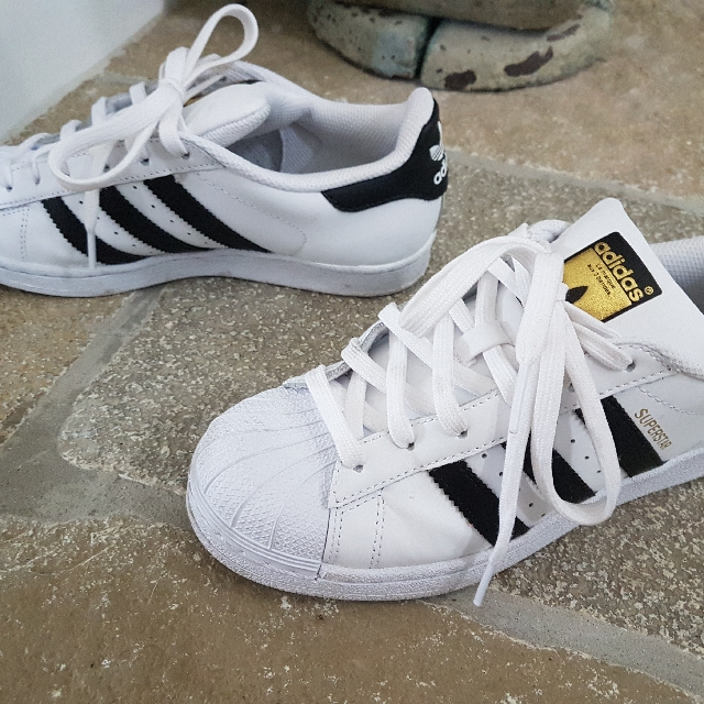 Adidas Superstar As New Size US4