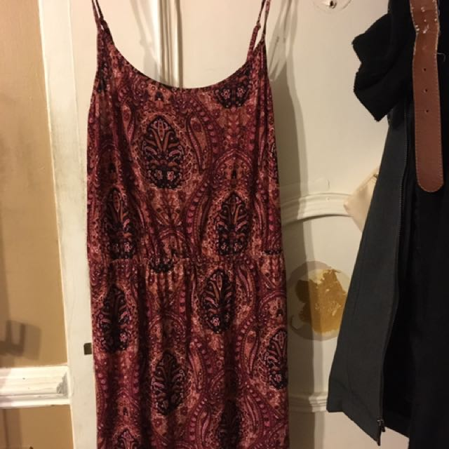 AE Paisley Patterned Dress