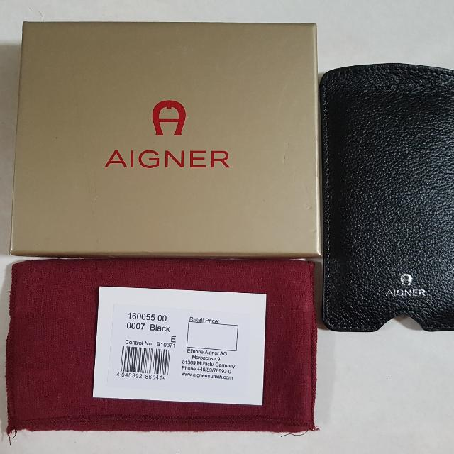 Aigner Iphone 5 Leather Pouch