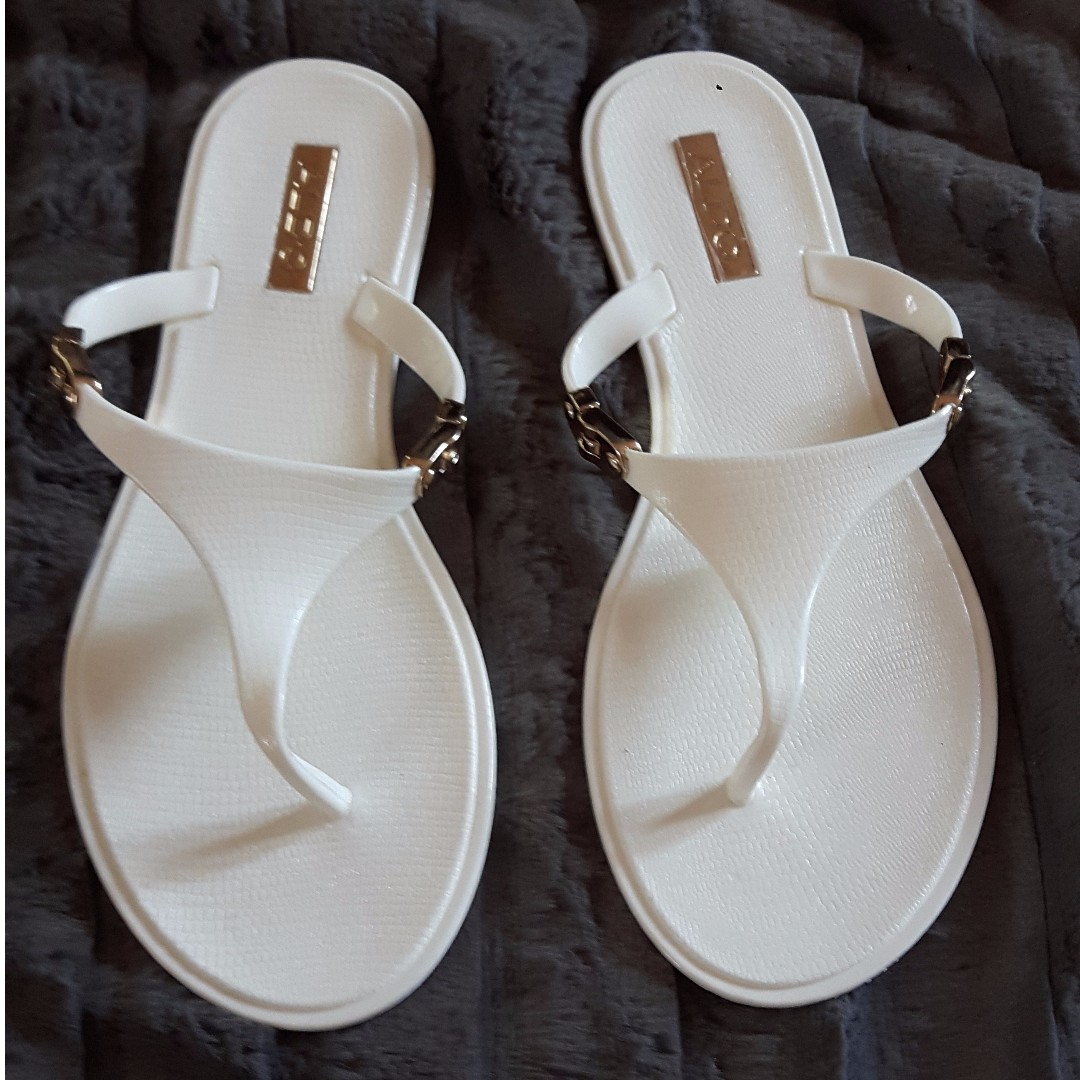 963fc7457 ALDO Missi Plastic Thong Sandals on Carousell