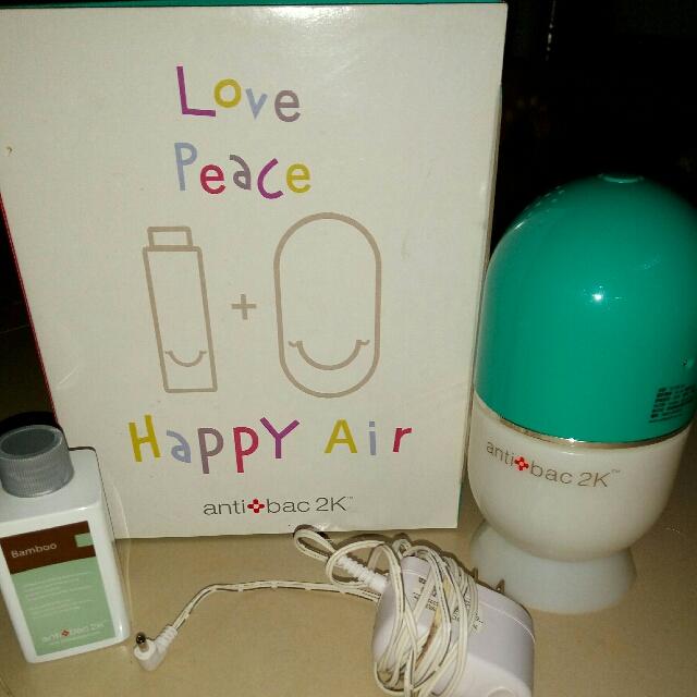 antibac2K 安體百克空氣洗淨機HAPPY AIR膠囊型*1