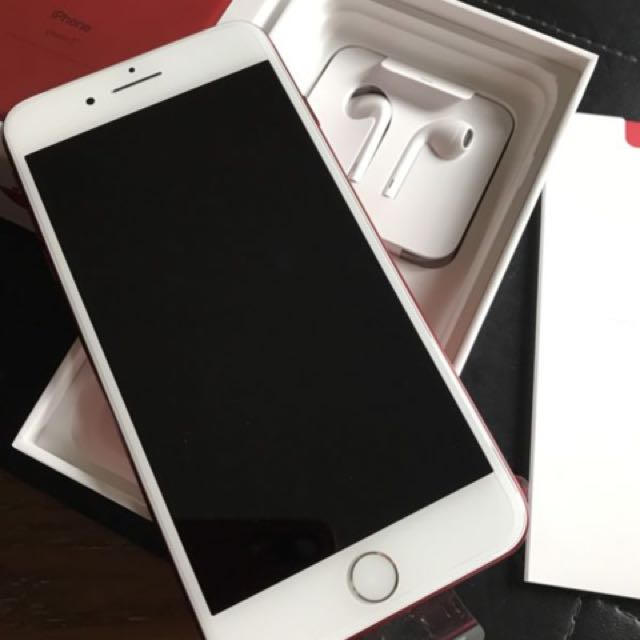 Apple iPhone 7 Red Plus 128gb