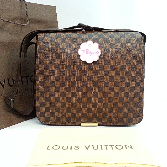 ec5e55bf2b7c Authentic Louis Vuitton Monogram Damier Ebene Abbesses Messenger Bag     Only For Sale        No Trade        Fixed Price Non-Neg       定价