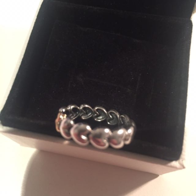 Authentic Pandora Ring Sz 50