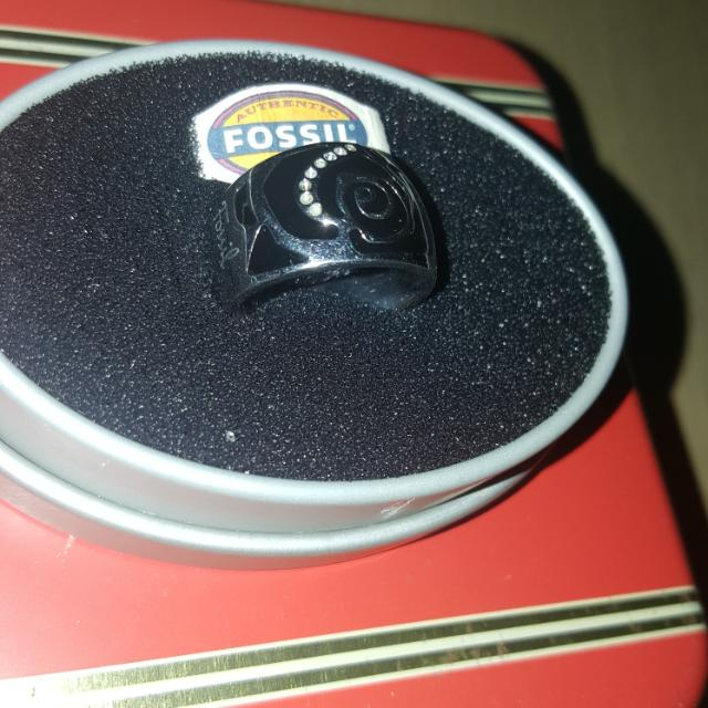 Auth.Fossil RING Stainless Steel