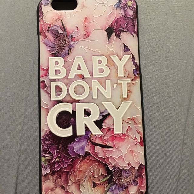 Baby Don't Cry iPhone 6 Phone Case
