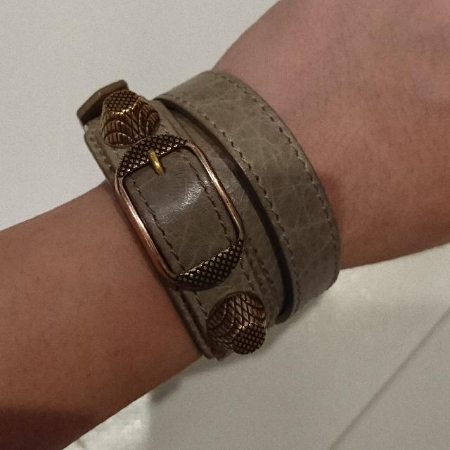 Balenciaga TT Bracelet (Original Used)