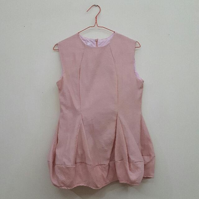 Baloon Pink Sleeveless
