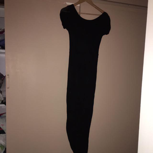 Black Long Classy Dress