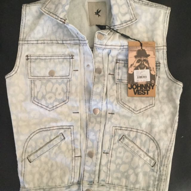 Brand New Denim Vest