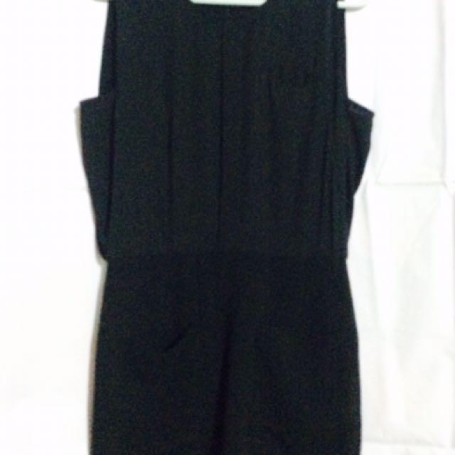 Branded Black party dress