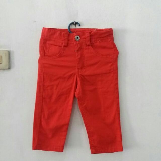 Celana Anak Bahan Katun, Brand Cool Baby, Size 1-2thn