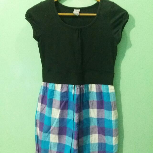 Crissa Checkered Dress