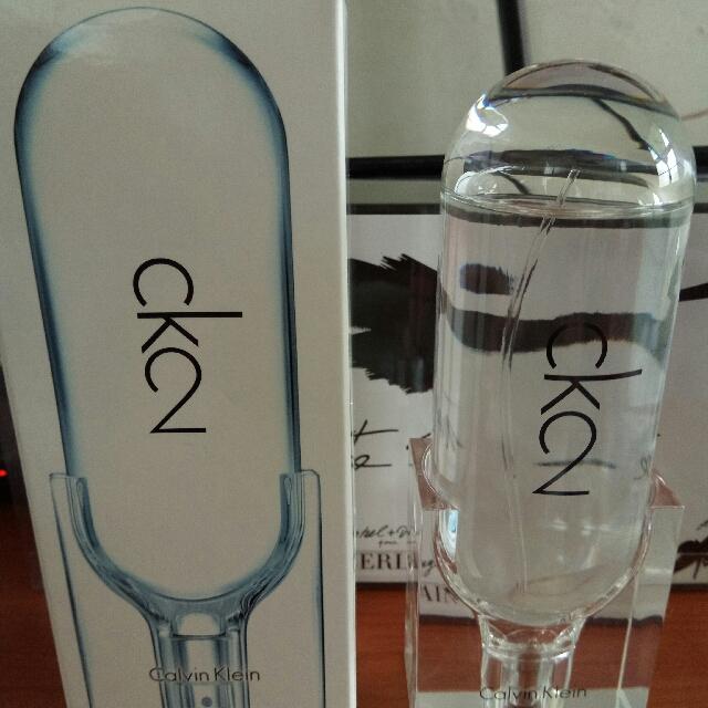 CK 2中性淡香水(100ml)