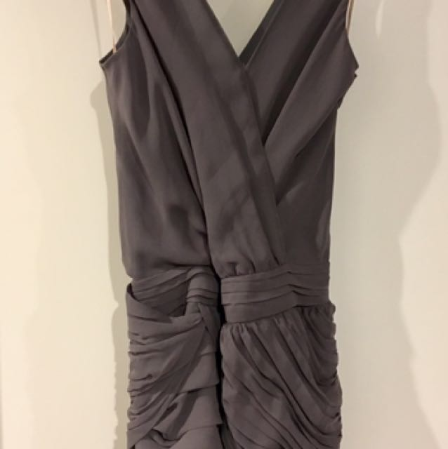 Cooper St Size 12 Charcoal Dress