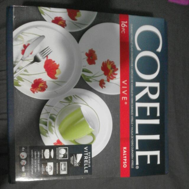 CORELLE (PLATES,MUGS,BOWLS)