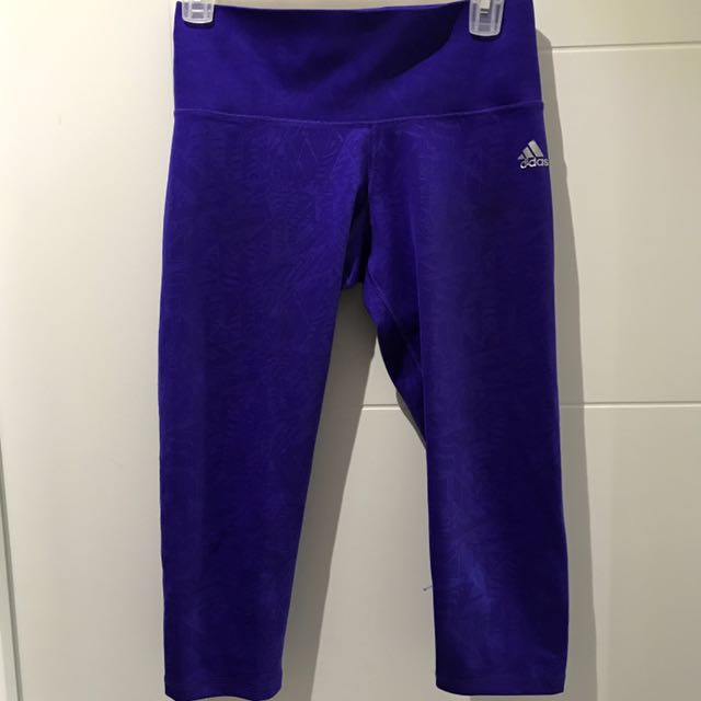 Crop High Waist Adidas Leggings