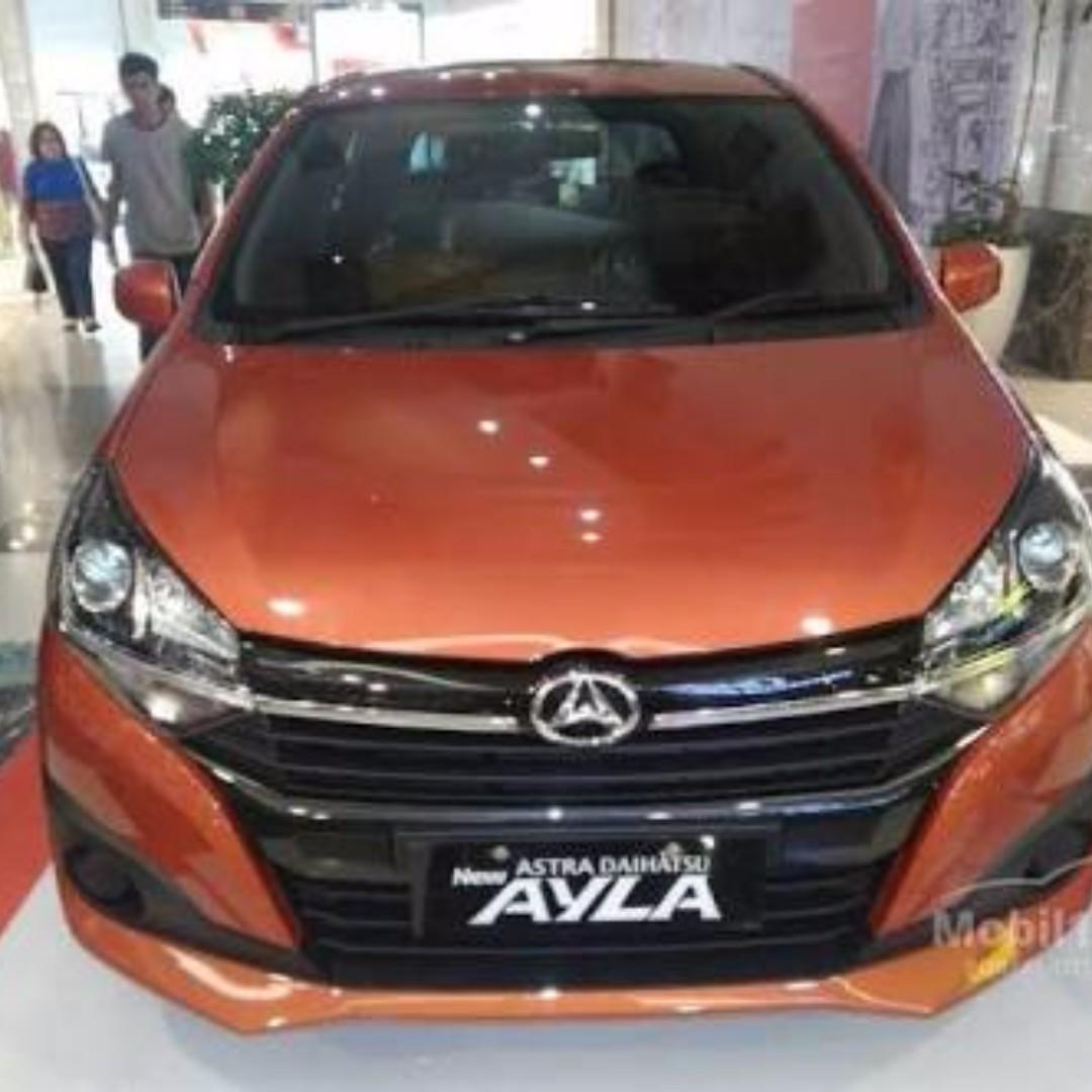 8600 Koleksi Gambar Mobil Ayla Orange HD Terbaru