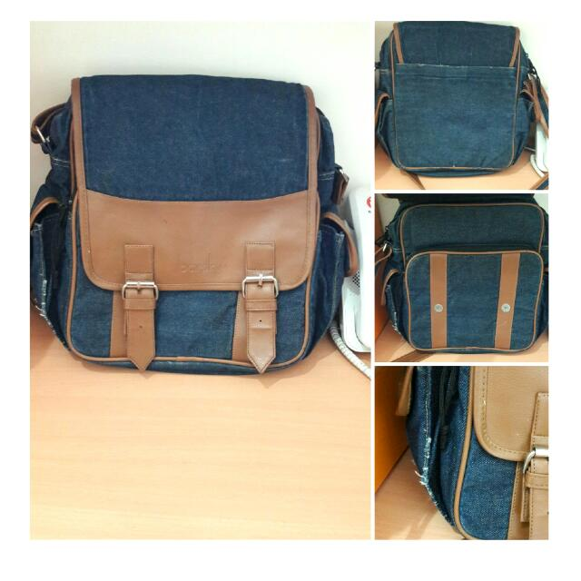 Denim Bag by Barsky (Unisex)