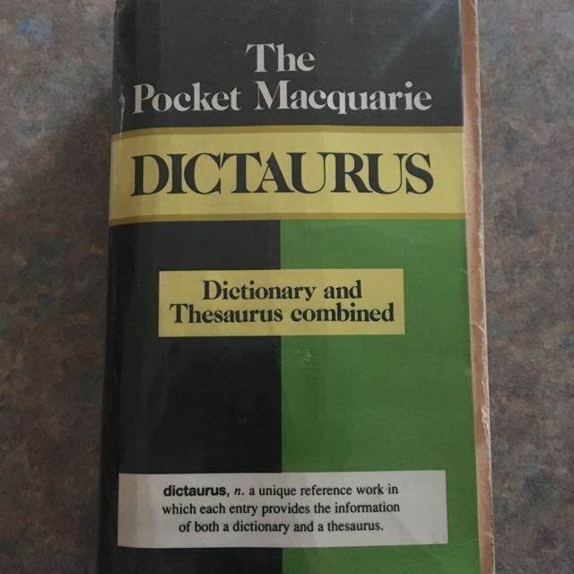 Dictionary + Thesaurus