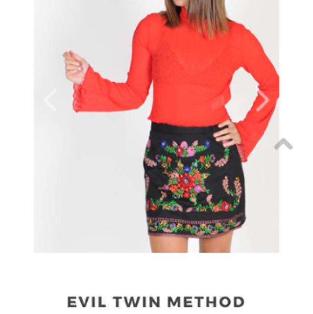 Evil Twin Crop Top