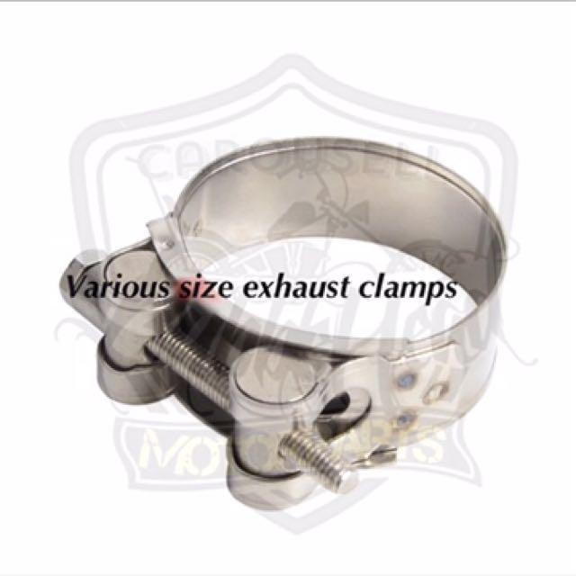 Exhaust Banjo Heat Clamps, Motorbikes, Motorbike Accessories