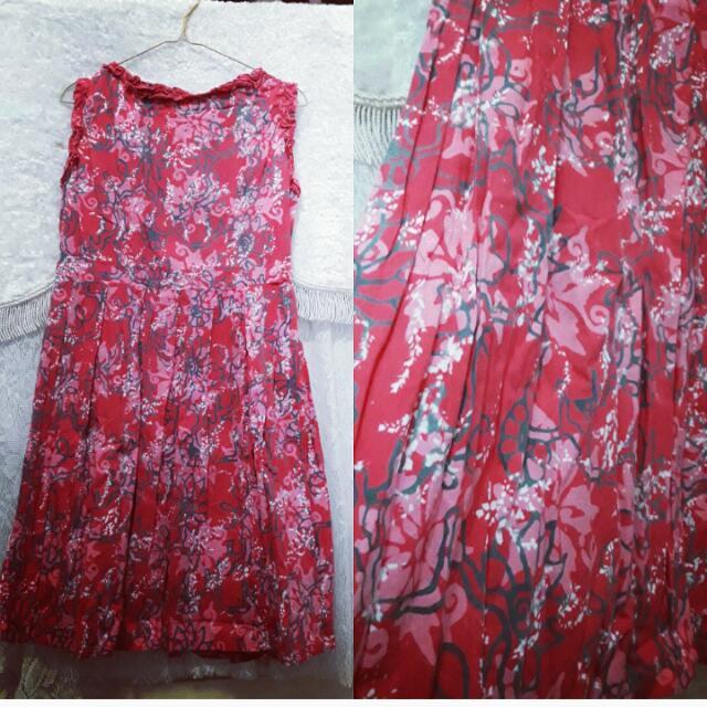 Flower Dress Batik