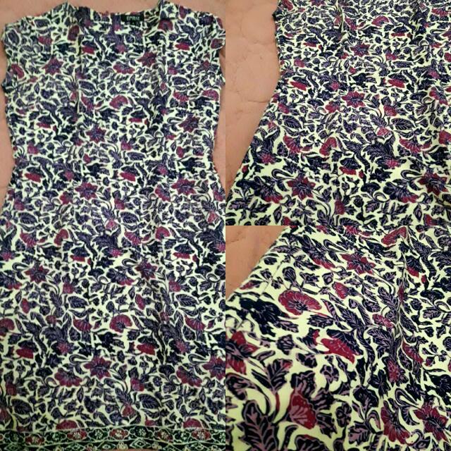 Flower Dress Batik EPRISE