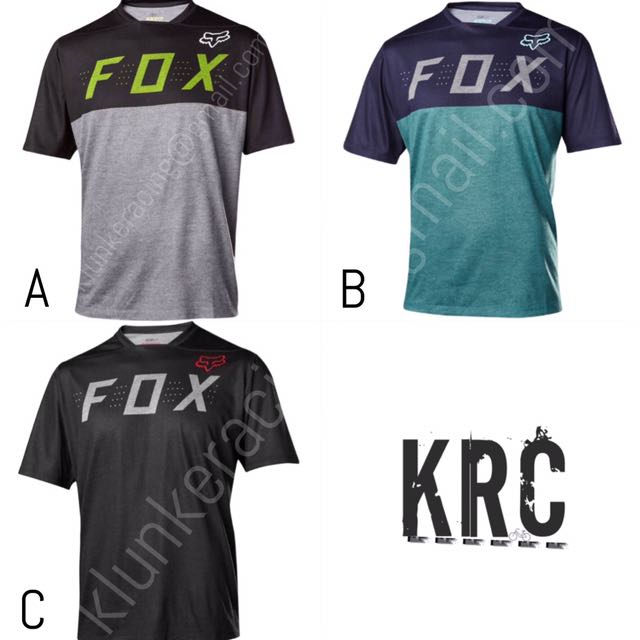20a6a0df3 Fox Racing Indicator Short Sleeves Jersey