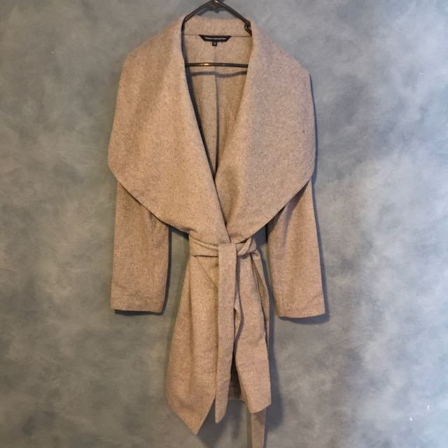 French Connection Big Collar Coat