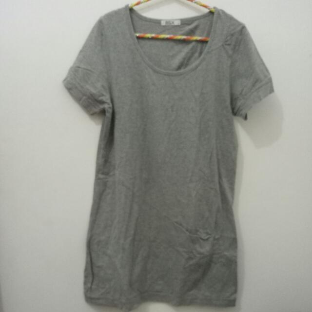 Grey Mini Dress Giordano