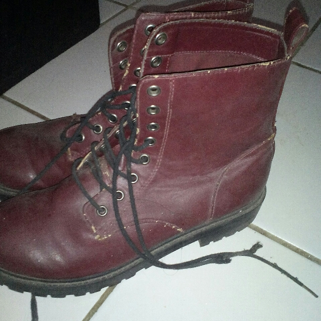 H&m Boots Red