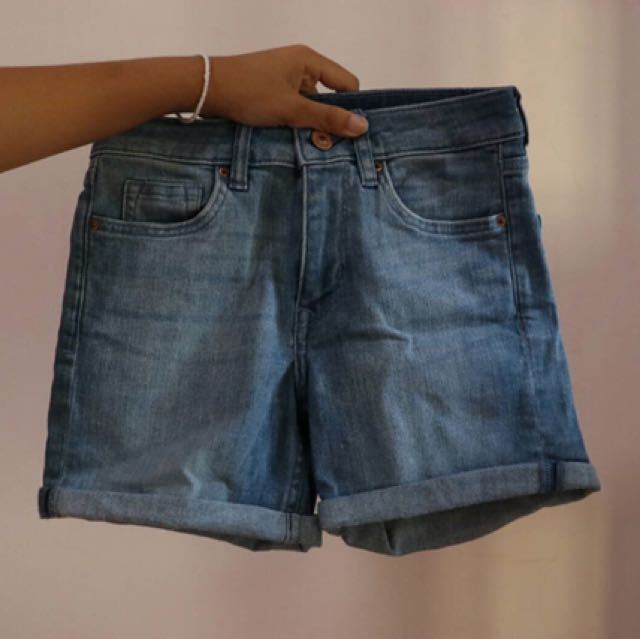 H&M CELANA PENDEK DENIM / SHORT PANTS