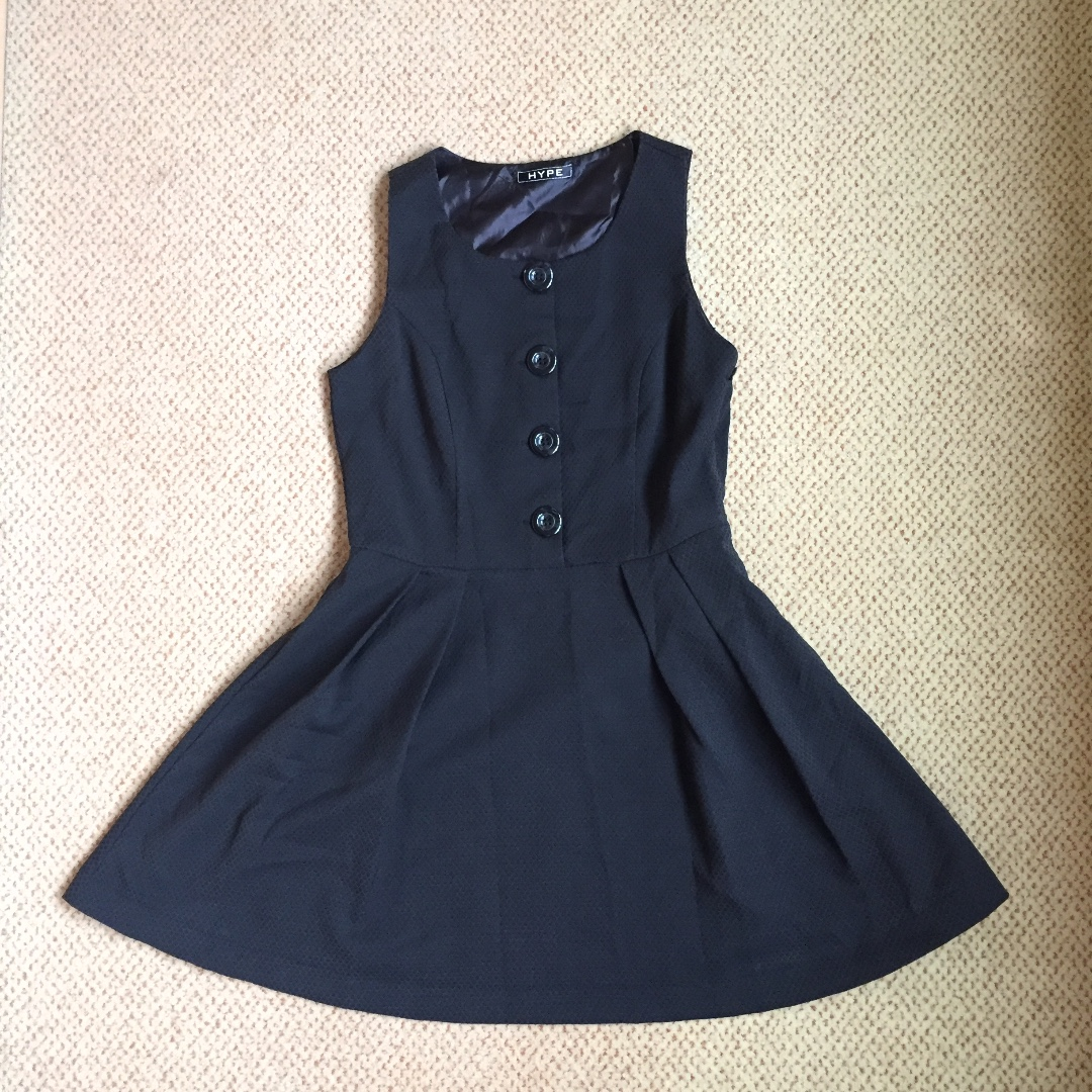 HYPE Flare Black Dress