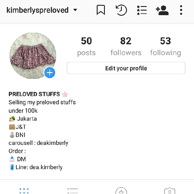 IG : @KIMBERLSPRELOVED