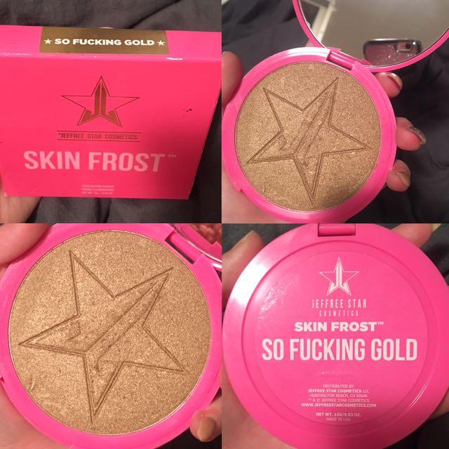 Jeffree Star highlighter - SO FUCKING GOLD