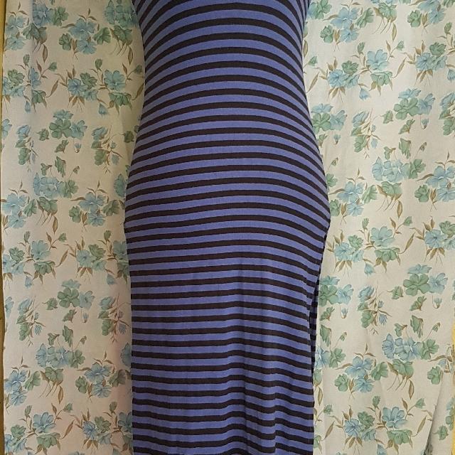 Long Stripe Dress