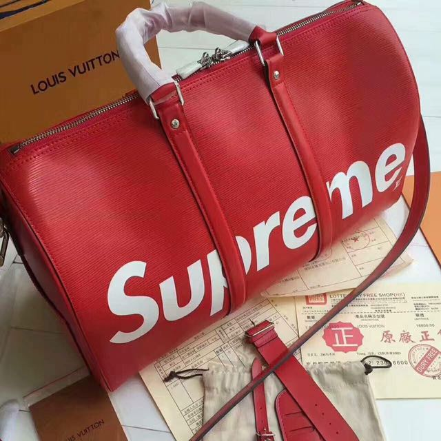 LV (Louis Vuitton) SUPREME TRAVEL BAG for Men! Authentic! 💯