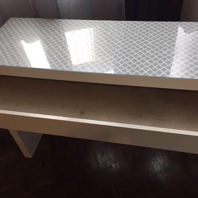 MALM  dressing Table White