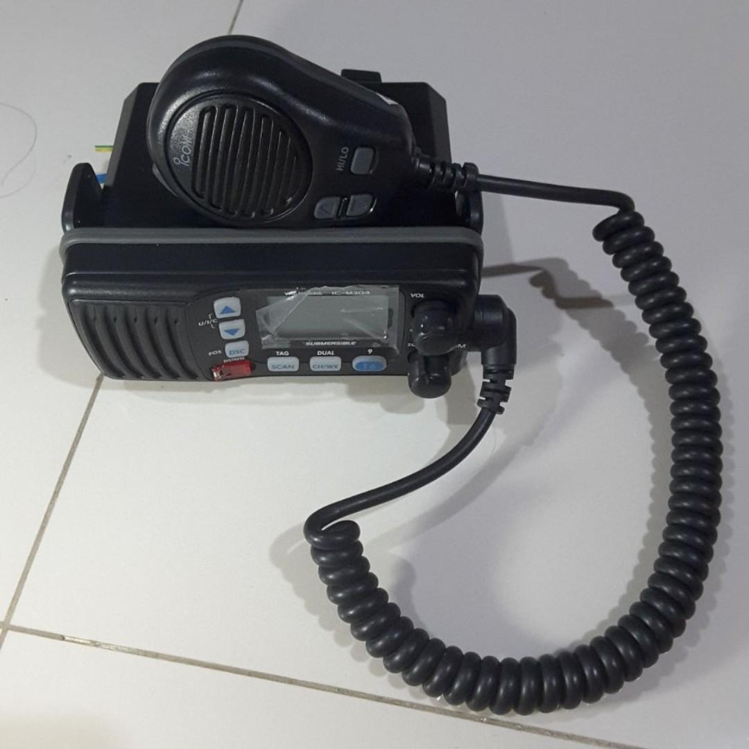 Marine radio untuk kapal, yacht dan lainnya... ICOM