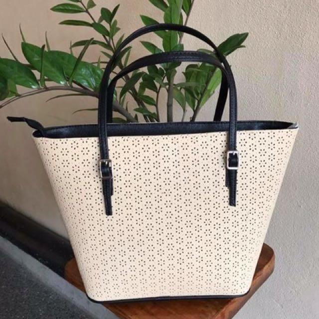 Mk Buckles Lasercut Bag