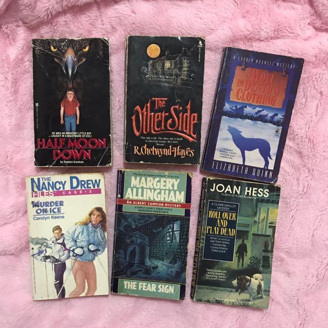Mystery Pocketbooks