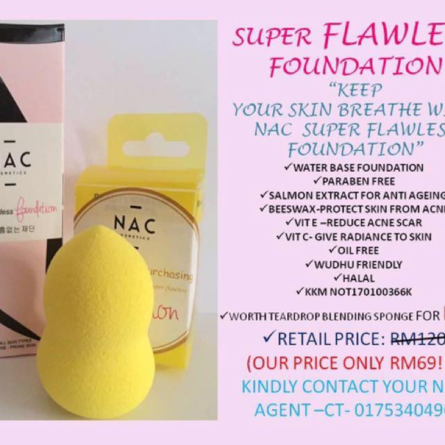 NAC Super Flawless Foundation