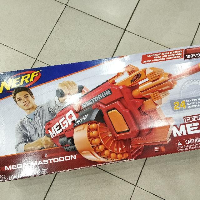 NERF B8086EU40 N-Strike Mega Mastodon Blaster by Nerf - Shop Online for  Toys in Hong Kong