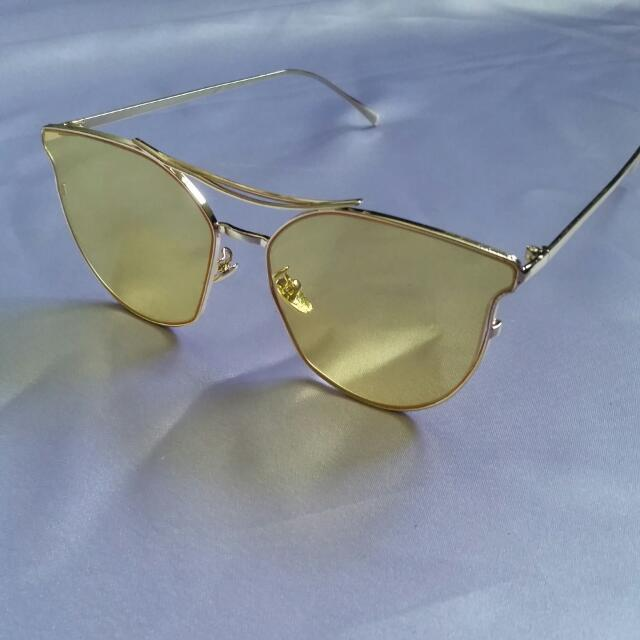 REDUCED NEW Yellow Tinted Sunglasses