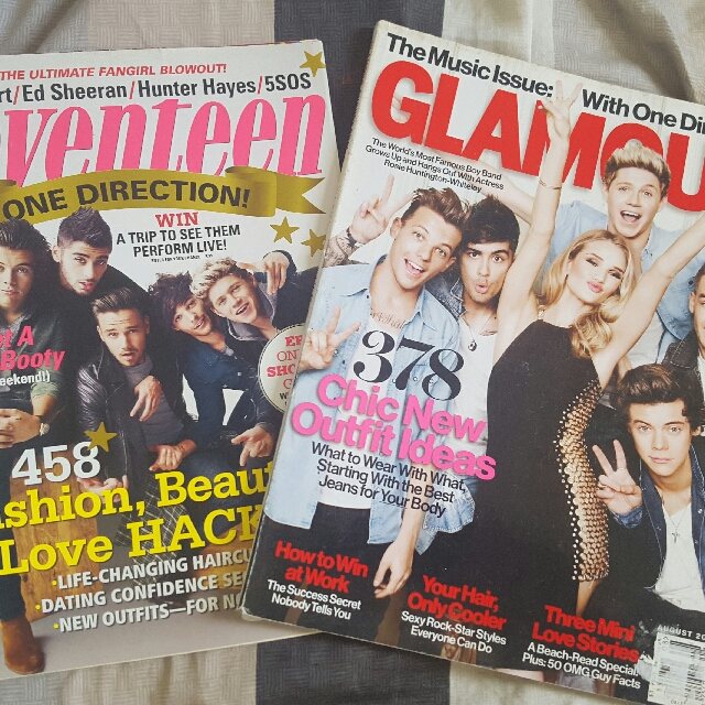 One Direction magazine bundle